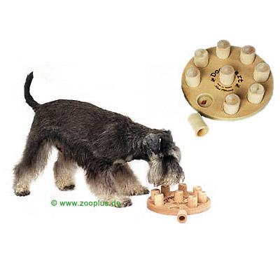 Hundespielzeug, geht auch bei mittelintelligenten Hunden
