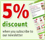5% Newsletter Gutschein