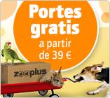 Portes gratis a partir de 39€