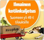 Ilmainen kotiinkuljetus 49 euron tilauksiin