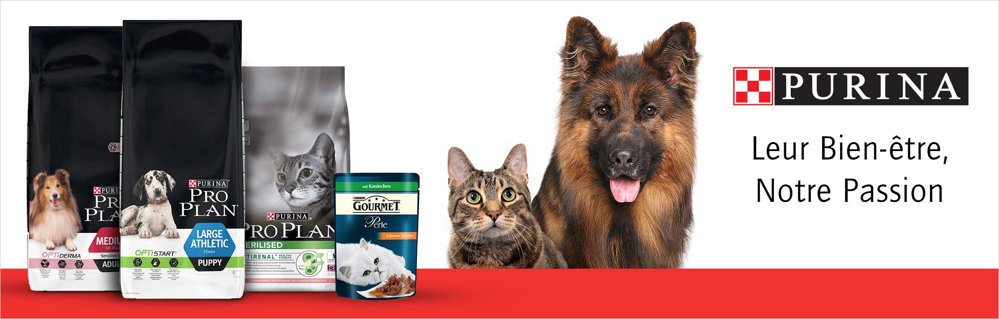 Purina Pro Plan Aliments pour chiens et chats