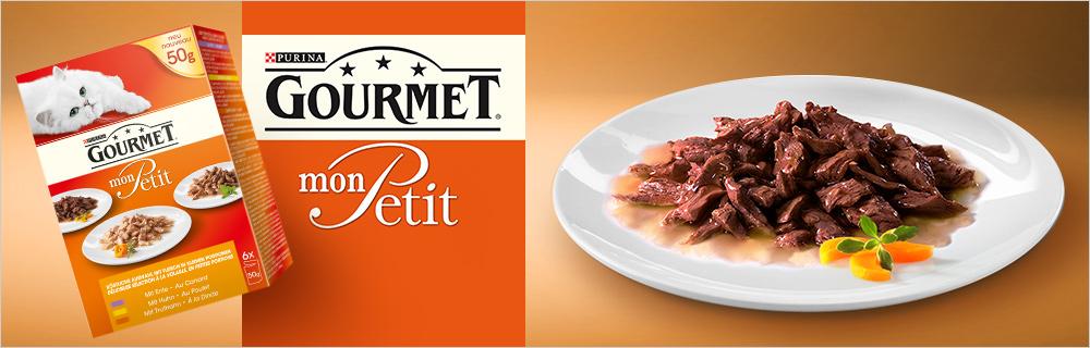 Gourmet Cat Food Mon Petit