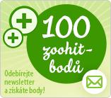 100 bodů Newsletter