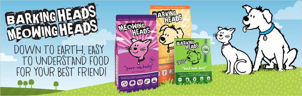 Barking Heads and Meowing Heads