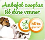 Anbefal zooplus til dine venner