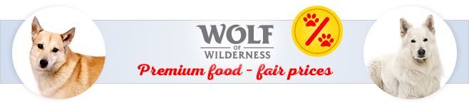 Wolf of Wilderness dry dog food