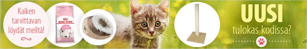 Ruoat ja tarvikkeet kissanpennuille edullisesti