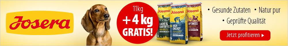 Josera - 4 kg gratis!