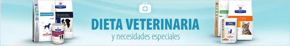 Dieta veterinaria para perros y gatos