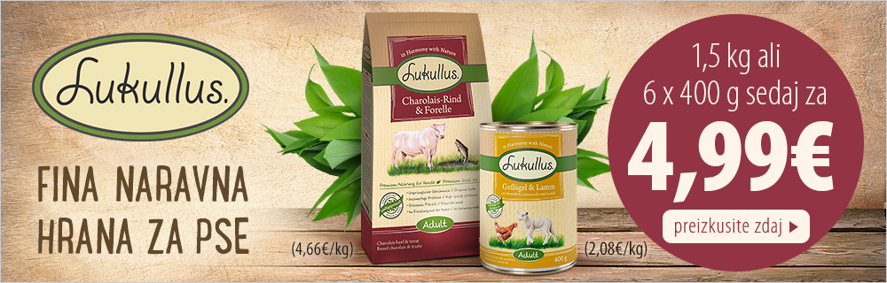 Lukullus hrana za pse