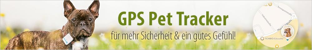 Jetzt für mehr Sicherheit & ein gutes Gefühl sorgen - mit einem GPS Pet Tracker!