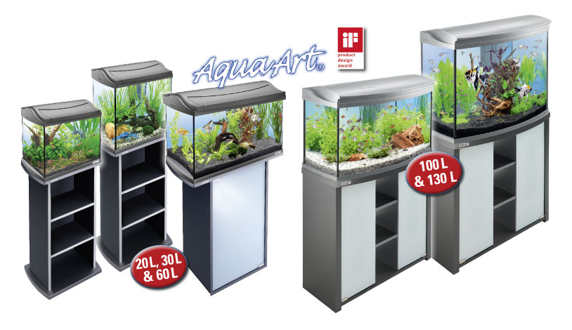 szafka pod akwarium tetra aquaart 60l antracyt. Black Bedroom Furniture Sets. Home Design Ideas