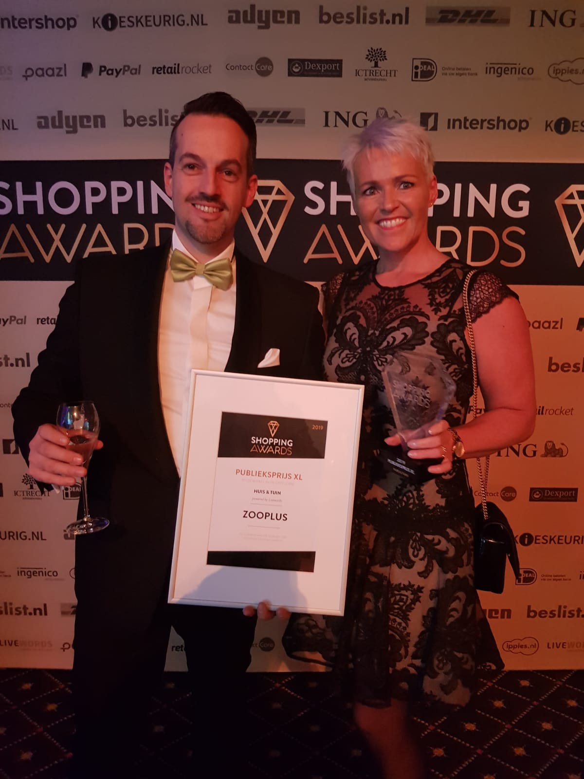 Winnaar Shopping Awards 2018!