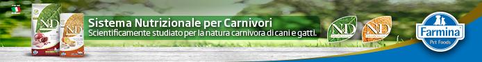 Farmina N&D - sistema nutrizionale per carnivori