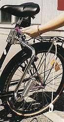 hund am fahrrad beim joggen. Black Bedroom Furniture Sets. Home Design Ideas