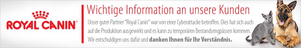 Royal Canin Lieferengpass