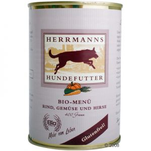 Herrmanns Hundefutter Bio-Menü