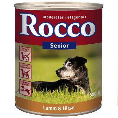 rocco senior lamm hundefutter nass