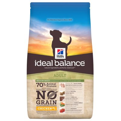 Hill's Ideal Balance Adult No Grain Hundefutter mit Huhn & Kartoffel