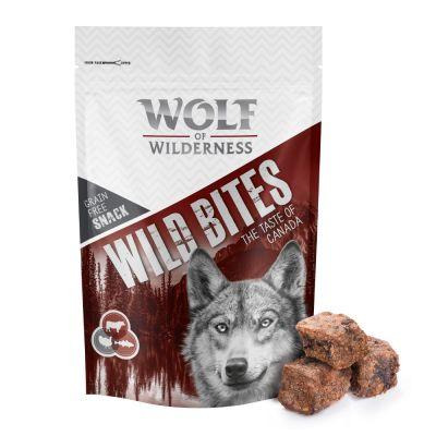 """Wolf of Wilderness Snack - Wild Bites """"The Taste Of"""" 180 g"""