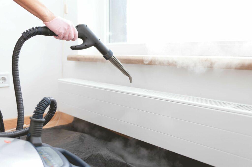 Dampfreiniger Wohnung putzen