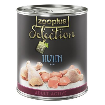 zooplus Selection Adult Active Huhn pur