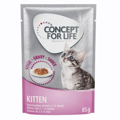 Concept for Life Kitten - in Soße