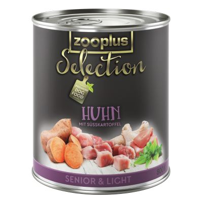 Zooplus Selection Senior & Light Huhn