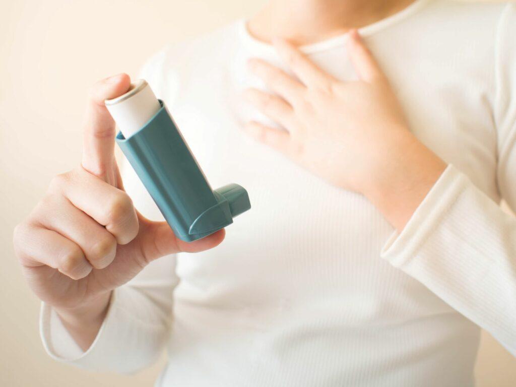 Inhalationsspray gegen Allergie